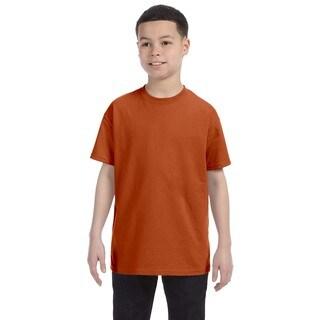 Texas Orange Heavyweight Blend Boys' T-shirt