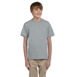 Boys' Athletic Heather Cotton/Polyester Hidensi-T T-shirt