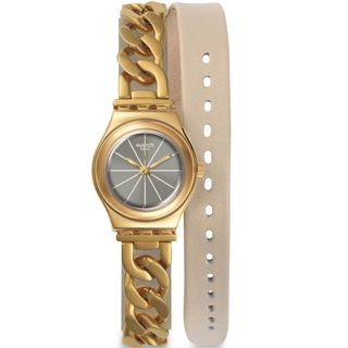Swatch Women's YSG139 Irony Grey Watch