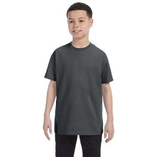 Heavyweight Blend Boys' Charcoal Grey T-shirt