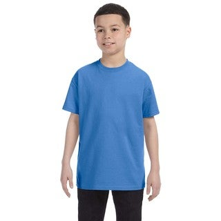 Boys' Columbia Blue Heavyweight Blend T-Shirt
