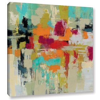 Silvia Vassileva's 'Summer Silk Road' Gallery Wrapped Canvas