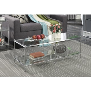 Clay Alder Home Logan Glass Coffee Table