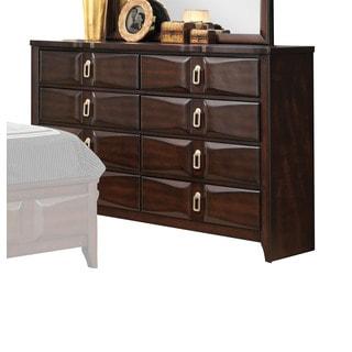 Lancaster Espresso 8-Drawer Dresser