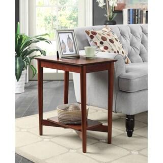 Convenience Concepts Savannah Mahogany Rectangle End Table