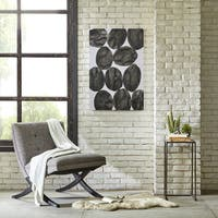 INK+IVY Painted Puzzle Gray Gel Coat Printed Canvas