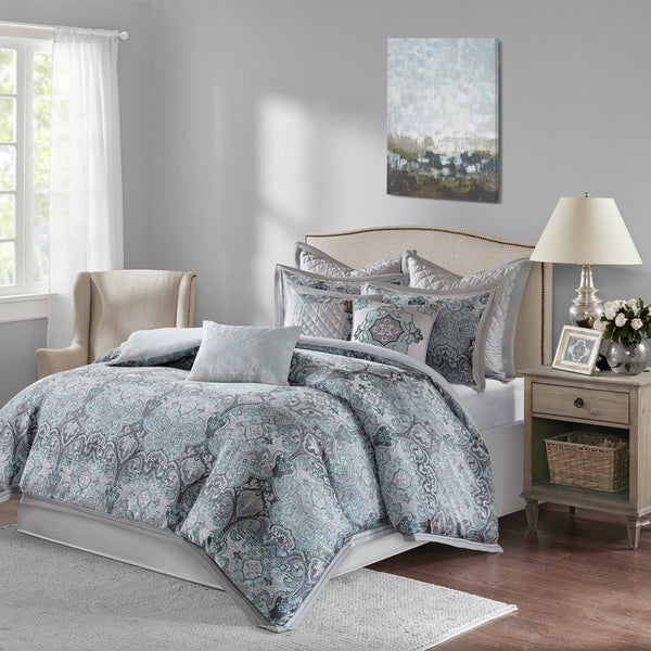 Bombay Norton Grey Comforter Set
