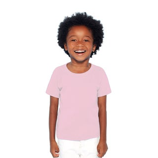 Boys' Light Pink Heavy Cotton T-shirt