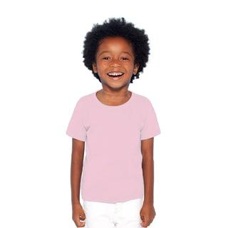Boys' Light Pink Heavy Cotton T-shirt