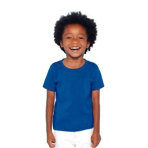 Boys' Royal Heavy Cotton T-shirt