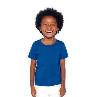 Boys' Royal Heavy Cotton T-shirt