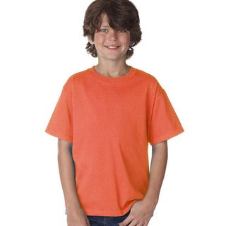 Fruit of the Loom Boys Coral Cotton T-shirt