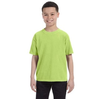 Boys' Kiwi Garment-dyed Ring-spun Cotton T-shirt