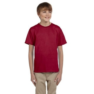 Fruit Of The Loom Boys' Cardinal Heavy Cotton T-Shirt