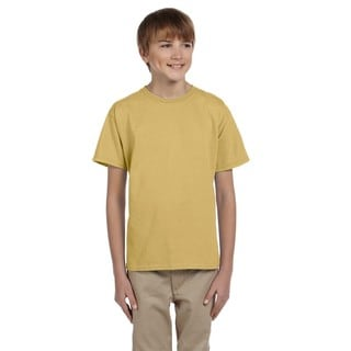 Fruit of the Loom Boys' New Gold Heavy Cotton Heather T-shirt