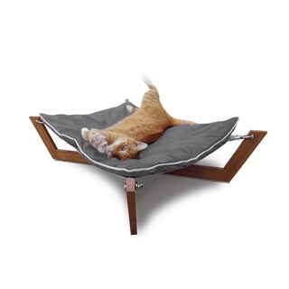 Bamboo Cross Dog/Cat Bed Hammock (3 options available)