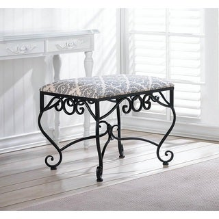 Damask Pattern Elegant Stool
