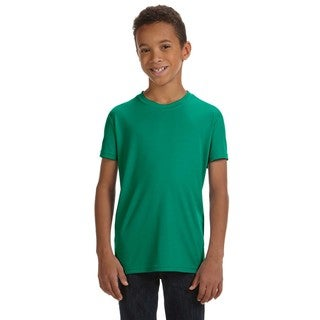For Team Boys' Sport Kelly Polyester 365 Performance Short-sleeve T-shirt