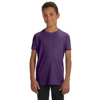 For Team 365 Sport Purple Polyester Short-sleeved Performance T-shirt