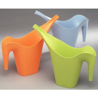 Arrow Plastic 00200 Assorted Colors Stackable Watering Cans