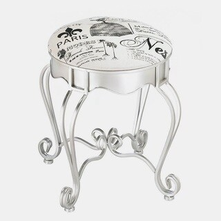 French Metal Fashionable Stool