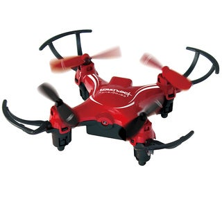 ZeroGravity Mini Pocket Drone 4 Channel 6 Axis Gyro RC Micro Quadcopter w/ 3D Flip & Camera W/ 1-Year Membership to Loopster.