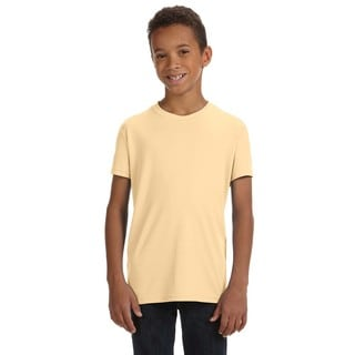 Team 365 Boys' Vegas Gold Polyester Performance Short-sleeve Sport T-shirt