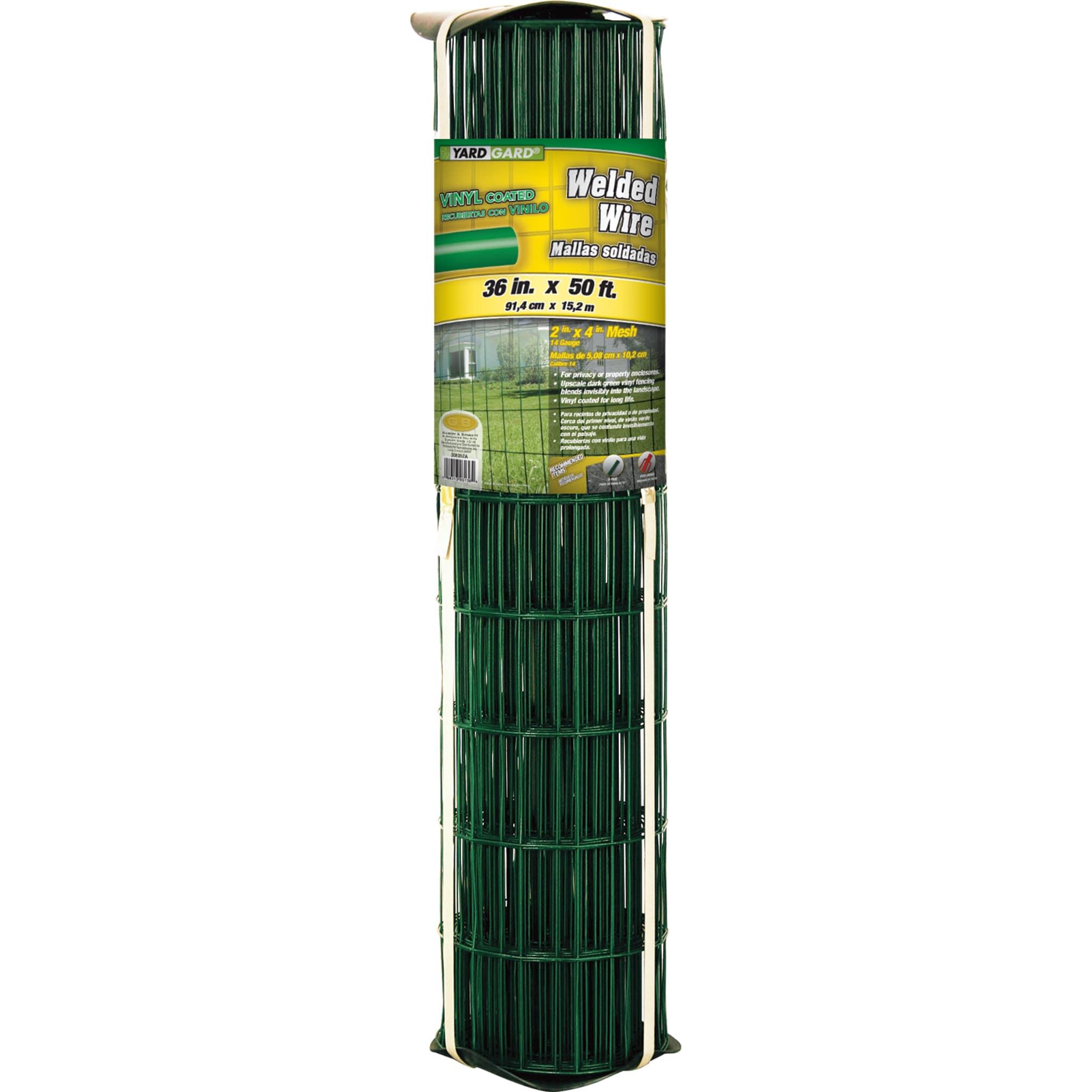 Yard Gard 308357A 36 inches x 50 feet Green Vinyl Wire (F...