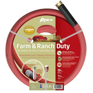 Apex 969RR-50 3/4 inches x 50 feet Farm & Ranch Duty All Rubber Hose