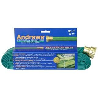 Andrews 10-12346 30 feet 2 Tube Sprinkler & Soaker Hose