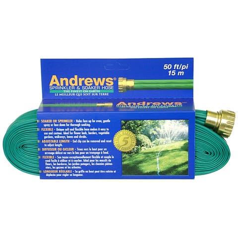 Andrews 10-12348 50 feet 2 Tube Sprinkler & Soaker Hose