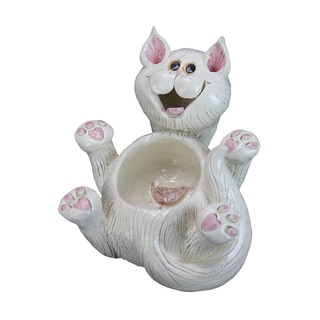 Exhart Pence Pets 6-inch Cat Planter