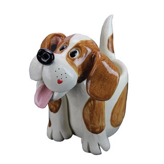 Exhart Pence Pets 8-inch Dog Planter
