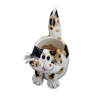 Pence Pets 5-inch Cat Planter