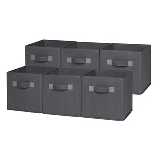 Charmant OneSpace Foldable Cloth Storage Cube Set (Pack Of 6)
