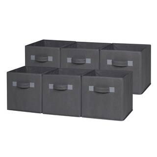 b3a20cd7e355 Grey, Fabric Storage & Organization | Shop our Best Home Improvement ...