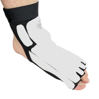 High Quality Taekwondo Foot Ankle Support Protector Fighting Foot Guard kick Boxing foot wear All Sizes https://ak1.ostkcdn.com/images/products/12308131/P19142844.jpg?impolicy=medium