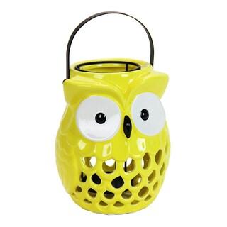 Yellow Owl Lantern