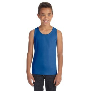 For Team Boys' 365 Sport Royal Mesh Tank
