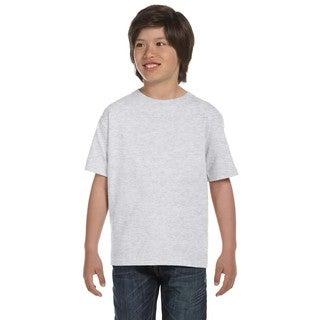 Dryblend Boys' Ash Grey T-shirt