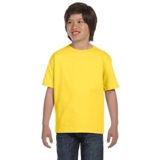 Glidan Dryblend Boys' Yellow T-shirt