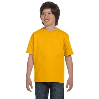 Dryblend Boys' Gold T-shirt