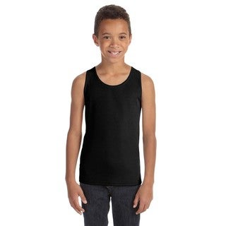 For Team Boys' 365 Black Mesh Tank