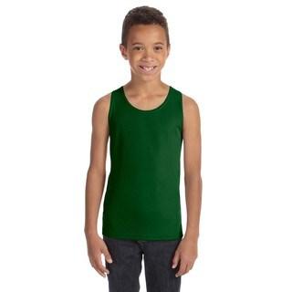 For Team Boys' 365 Forest Polyester Mesh Sport Tank