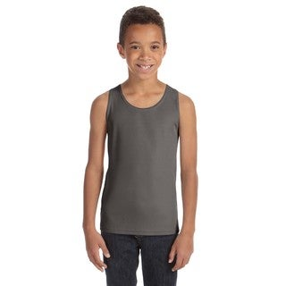 For Team Boys' Sport Graphite 365 Mesh Tank