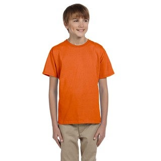 Comfortblend Boys' Orange Ecosmart Crewneck T-shirt