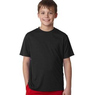 Cool Dri Youth Black T-shirt