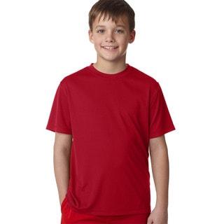 Cool Dri Youth Deep Red T-shirt