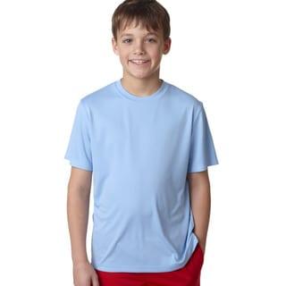 Cool Dri Youth Light Blue T-shirt