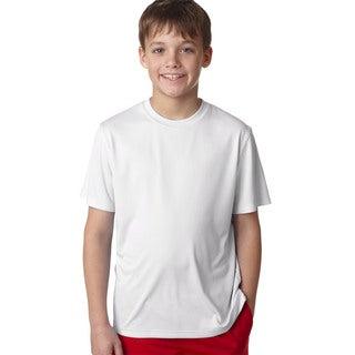 Cool Dri Youth White T-shirt